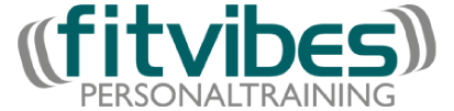 Logo fitvibes Personal Training Jan Kruse